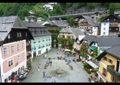Oberösterreich - Hallstatt - Marktplatz