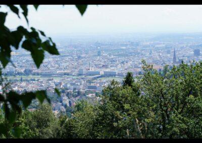 Oberösterreich - Linz - Blick auf die Landeshauptstadt