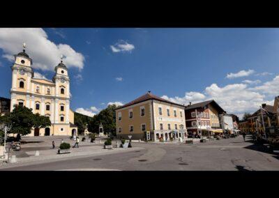 Oberösterreich - Mondsee - historischer Marktplatz