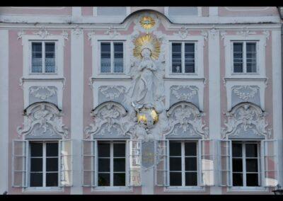 Oberösterreich - Obernberg am Inn - Hausfasade der Apotheke