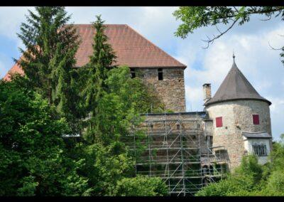 Oberösterreich - Pürnstein- Burg Pürnstein in der Nähe von Neufelden