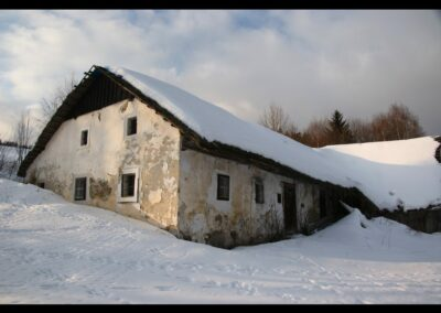 Oberösterreich - Sandl - altes Häuschen in Sandl