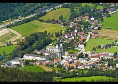 Oberösterreich - Spital am Pyhrn - Blick auf die Gemeinde
