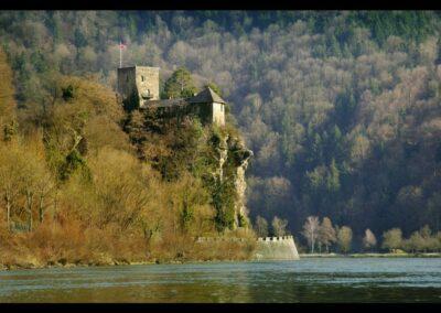 Oberösterreich - Struden - Burg Werfenstein im Strudengau