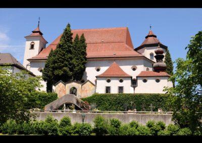 Oberösterreich - Traunkirchen - Pfarrkirche, ehemaliges Kloster