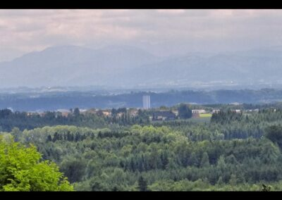 Oberösterreich - Wels - Blick auf die Stadt