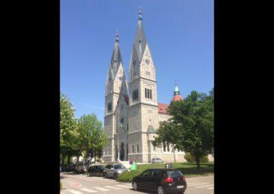 Oberösterreich - Wels - Herz-Jesu-Kirche 2
