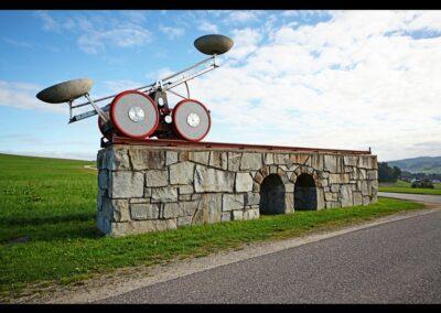 Oberösterreich - Windhaag bei Freistadt - Wettershuttle Kunstobjekt