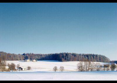 Oberösterreich - Winterlandschaft im Sauwald