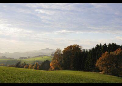 Oberösterreich - Landschaft um Bad Kreuzen im Mühlviertel