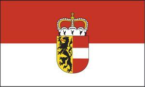 Bild zeigt: Salzburg Fahne