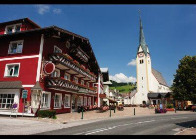 Sbg - Abtenau - Zentrum der Marktgemeinde