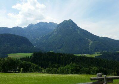 Sbg - Berglandschaft in Salzburgland