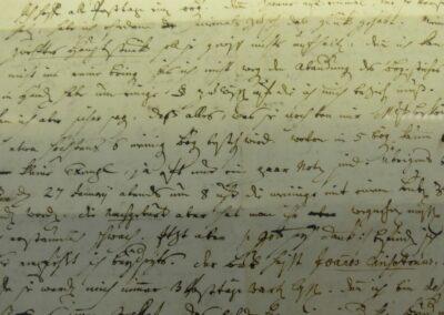 Sbg - Brief von Johann Georg Leopold Mozart