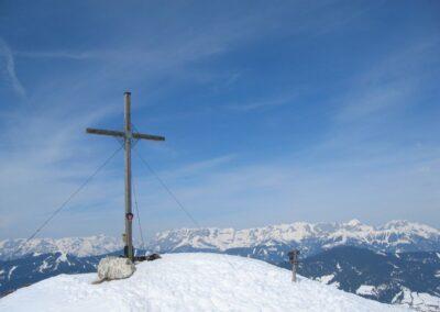 Sbg - Gipfelkreuz des Grießenkareck