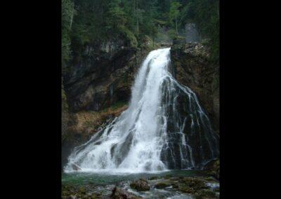 Sbg - Golling an der Salzach - Gollinger Wasserfall (Schwarzbachfall) 2