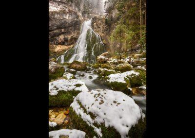 Sbg - Golling an der Salzach - Gollinger Wasserfall (Schwarzbachfall)