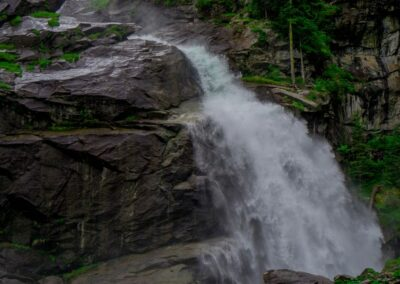 Sbg - Krimml - Krimmler Wasserfälle im Nationalpark Hohe Tauern 2