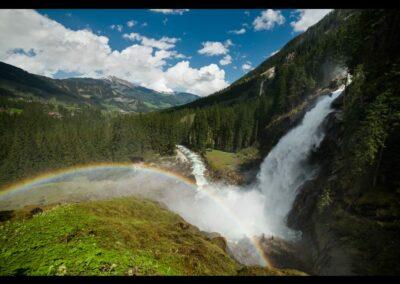 Sbg - Krimml - Krimmler Wasserfälle im Nationalpark Hohe Tauern 3