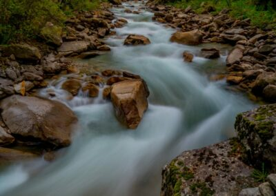Sbg - Krimml - Krimmler Wasserfälle im Nationalpark Hohe Tauern 4