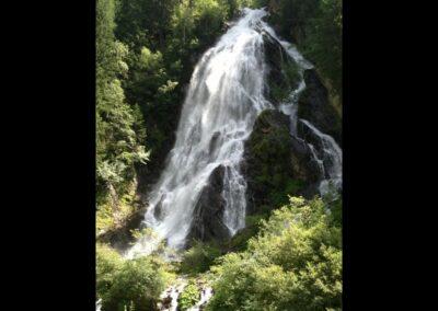Sbg - Krimml - Krimmler Wasserfälle im Nationalpark Hohe Tauern