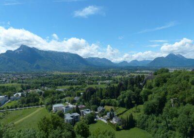 Sbg - Landschaft im Bundesland Salzburg