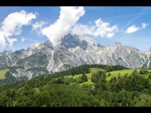 Sbg - Landschaft in den Salzburger Kalkalpen