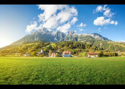Sbg - Leogang - Panoramablick
