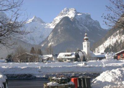 Sbg - Lofer - die Marktgemeinde im Winter