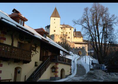 Sbg - Mauterndorf - Blick auf die Burg