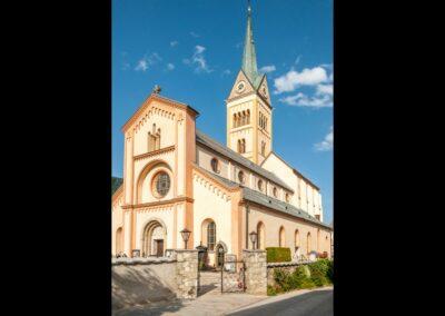 Sbg - Radstadt - Katholische Pfarrkirche Mariae Himmelfahrt