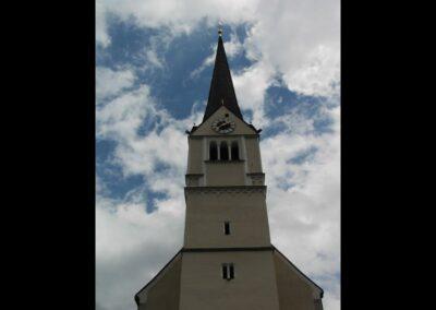 Sbg - Rauris - Kirchenturm der Katholische Pfarrkirche