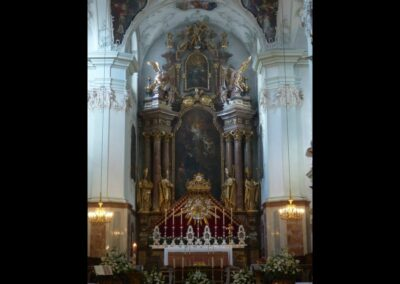 Sbg - Salzburg - Altar der Stiftskirche St. Peter