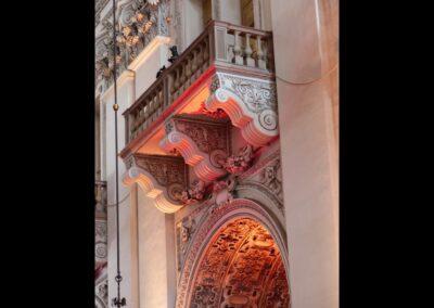 Sbg - Salzburg - Balkon Innenanschicht des Salzburger Doms