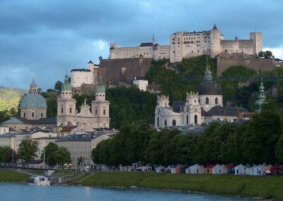 Sbg - Salzburg - Blick auf die Altstadt