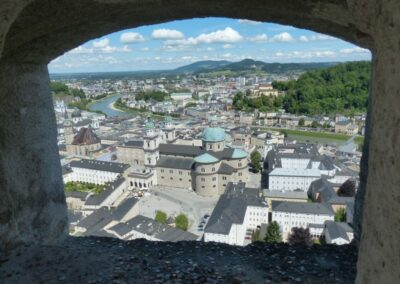 Sbg - Salzburg - Blick auf die Stadt