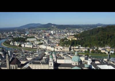 Sbg - Salzburg - Blick von oben
