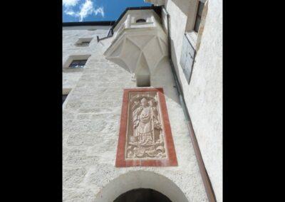 Sbg - Salzburg - Burganlage der Festung Hohensalzburg 2