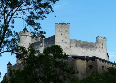 Sbg - Salzburg - Burganlage der Festung Hohensalzburg 3