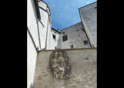 Sbg - Salzburg - Burganlage der Festung Hohensalzburg 4