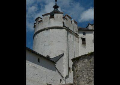 Sbg - Salzburg - Burganlage der Festung Hohensalzburg