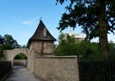 Sbg - Salzburg - Burgtor zur Festung Hohensalzburg