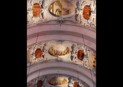 Sbg - Salzburg - Deckenfresken des Salzburger Doms
