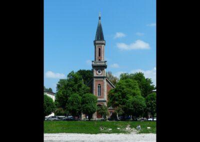 Sbg - Salzburg - Evangelische Christuskirche 2