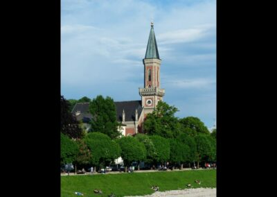 Sbg - Salzburg - Evangelische Christuskirche