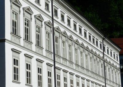 Sbg - Salzburg - Fasade der Erzdiözese Salzburg