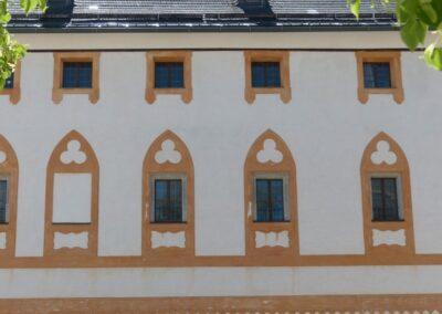 Sbg - Salzburg - Fasade der Festung Hohensalzburg