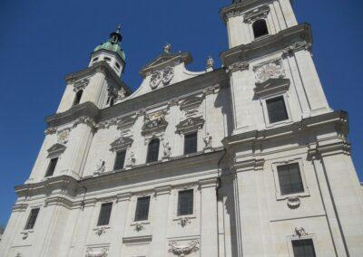 Sbg - Salzburg - Fasade des salzburger Doms