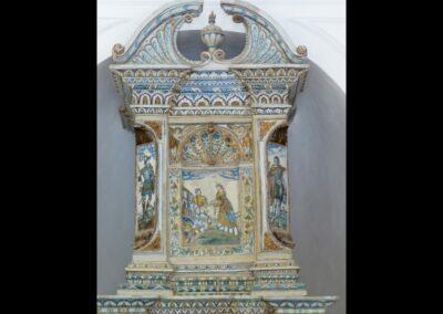 Sbg - Salzburg - Fayenceofen von Friedrich Strobl, Schloss Hellbrunn