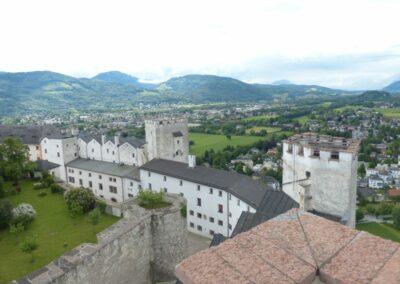 Sbg - Salzburg - Festung Hohensalzburg die Touristen-Attraktion